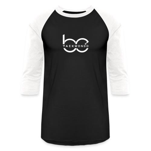 Logo emblem WHITE no bg - Baseball T-Shirt