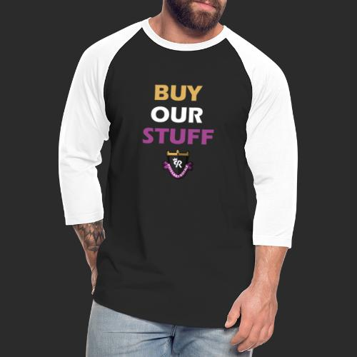 Buy Our Stuff Puissant Royale Logo - Unisex Baseball T-Shirt