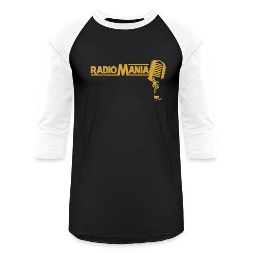 radiomania png - Unisex Baseball T-Shirt
