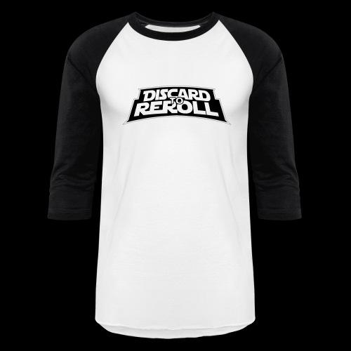 Discard to Reroll: Logo Only - Baseball T-Shirt