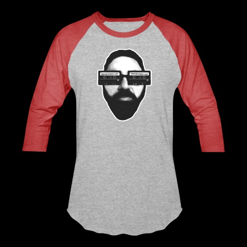Spaceboy Music RetroVision - Unisex Baseball T-Shirt