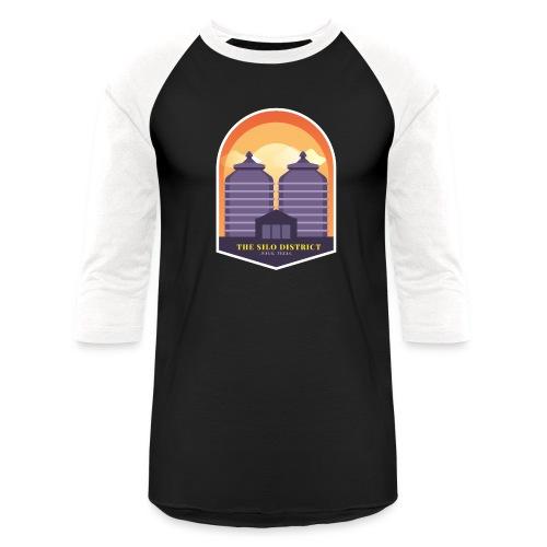 The Silos in Waco - Baseball T-Shirt