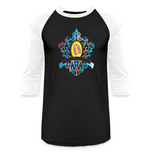 peacock love logo - Unisex Baseball T-Shirt