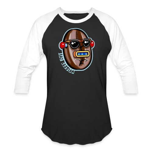 Coffee Bot - Unisex Baseball T-Shirt