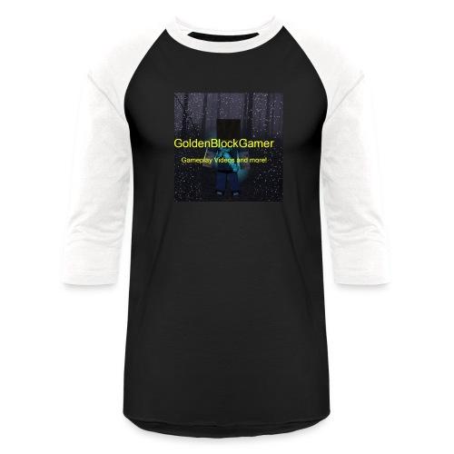 GoldenBlockGamer Tshirt - Baseball T-Shirt
