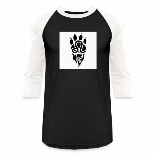 Black Leo Zodiac Sign - Unisex Baseball T-Shirt