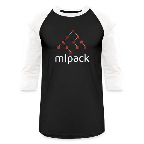 mlpack (White Logo) - Unisex Baseball T-Shirt