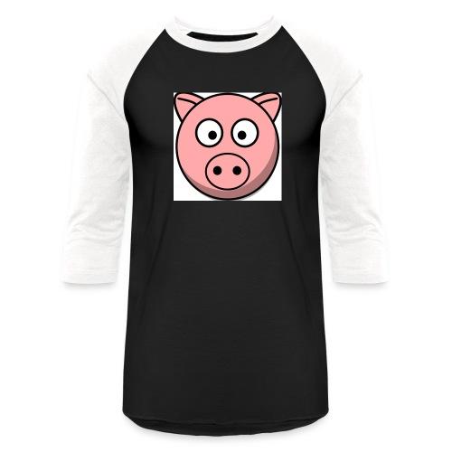 Piggy Mask - Unisex Baseball T-Shirt
