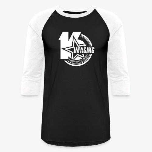16 Badge White - Baseball T-Shirt