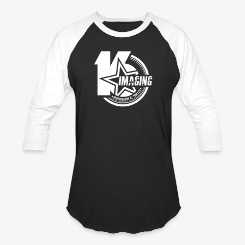 16IMAGING Badge White - Baseball T-Shirt