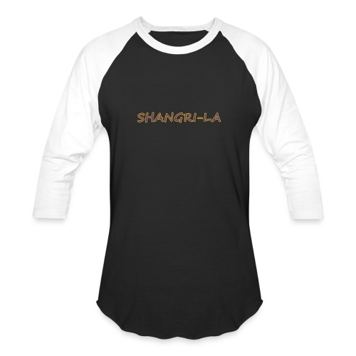 Shangri La gold blue - Baseball T-Shirt