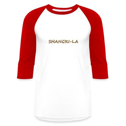 Shangri La gold blue - Baseball T-Shirt