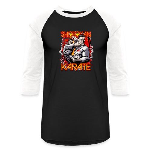 Shotokan Karate - Unisex Baseball T-Shirt