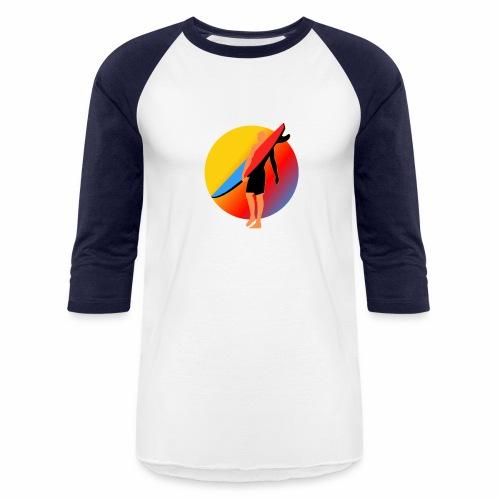 SURFER - Baseball T-Shirt