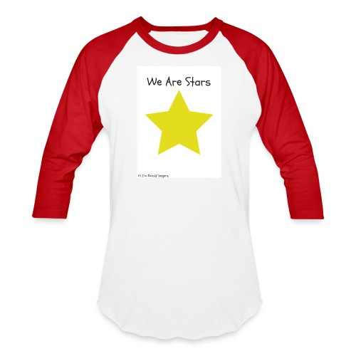 Hi I'm Ronald Seegers Collection-We Are Stars - Baseball T-Shirt