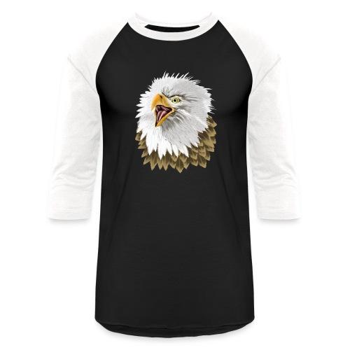 Big, Bold Eagle - Baseball T-Shirt