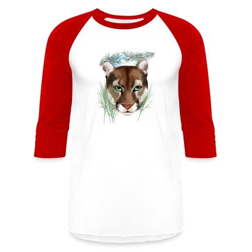 Midnight Puma - Baseball T-Shirt