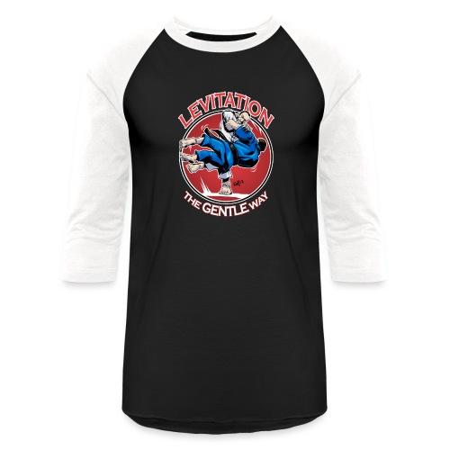 Judo Levitation for dark shirt - Unisex Baseball T-Shirt