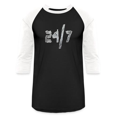 24/7 with ABG - Baseball T-Shirt