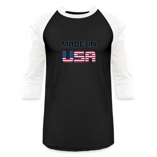 Made in USA - Baseball T-Shirt