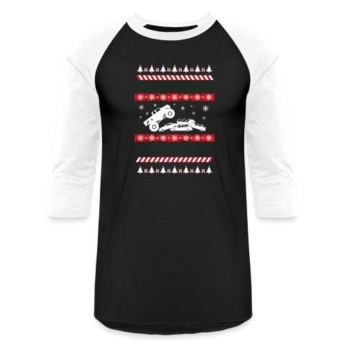 Ugly Christmas Monster - Baseball T-Shirt