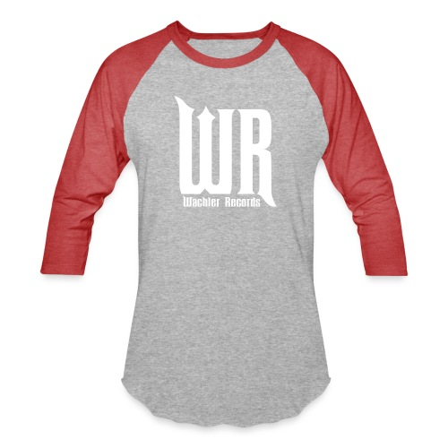 Wachler Records Light Logo - Baseball T-Shirt