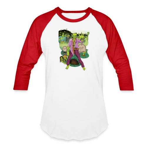 Zombies! - Baseball T-Shirt