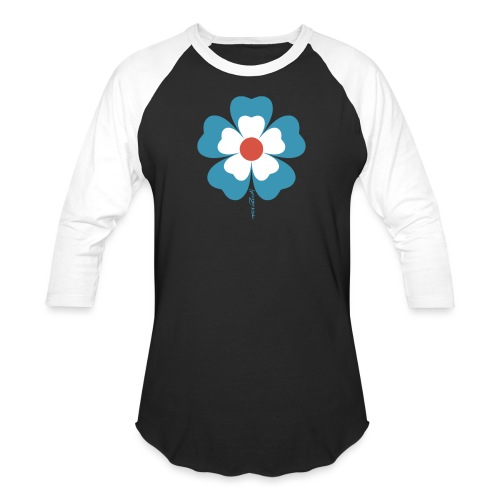 flower time - Unisex Baseball T-Shirt