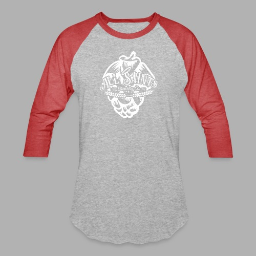 All Saints Hops - Unisex Baseball T-Shirt