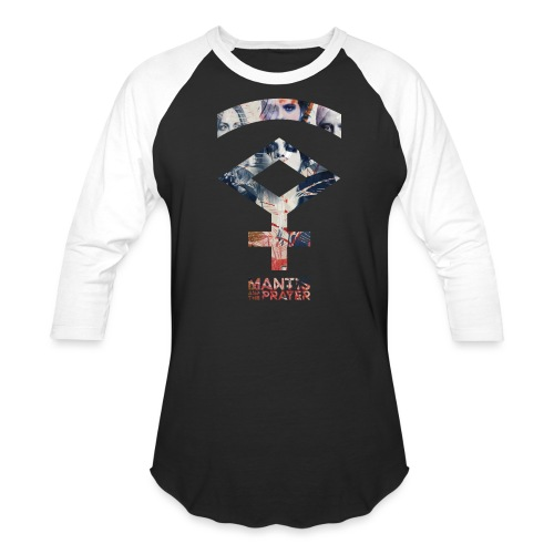 Mantis and the Prayer- Symbol Design - Unisex Baseball T-Shirt