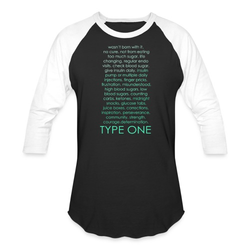 The Inspire Collection - Type One - Green - Baseball T-Shirt