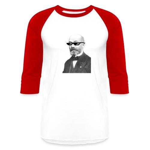 Zamenhof Shades (BW) - Baseball T-Shirt
