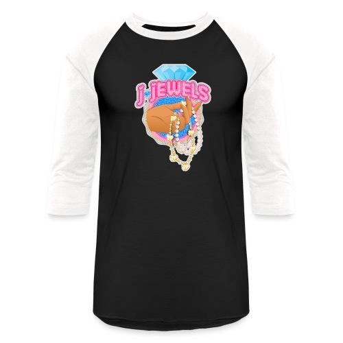 JJ Logo - Unisex Baseball T-Shirt