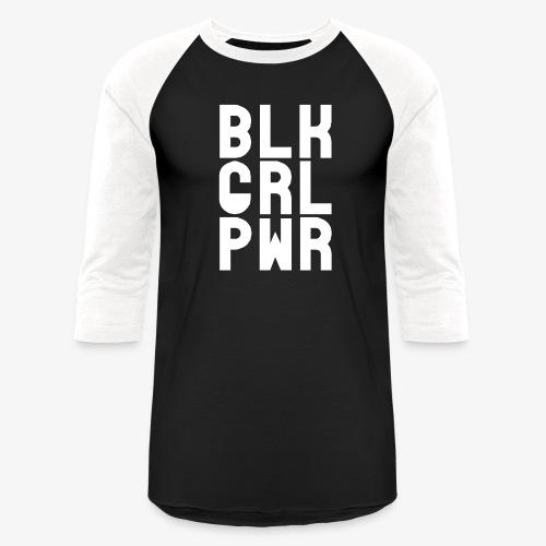 Black Girl Power - Baseball T-Shirt