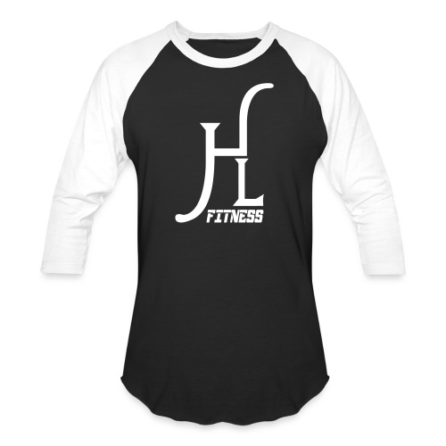 HLF Vector WHT - Unisex Baseball T-Shirt