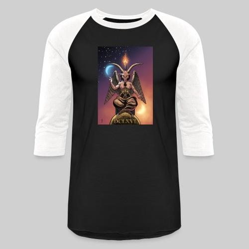 Classic Baphomet - Baseball T-Shirt