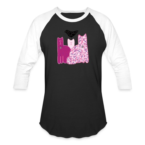 Miranda Sings Favorite Cats - Baseball T-Shirt