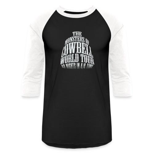 monstersofcowbellfront - Baseball T-Shirt
