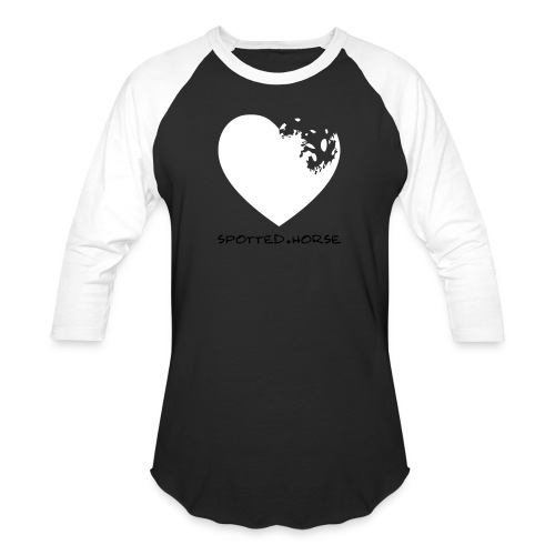Appaloosa Heart - Unisex Baseball T-Shirt