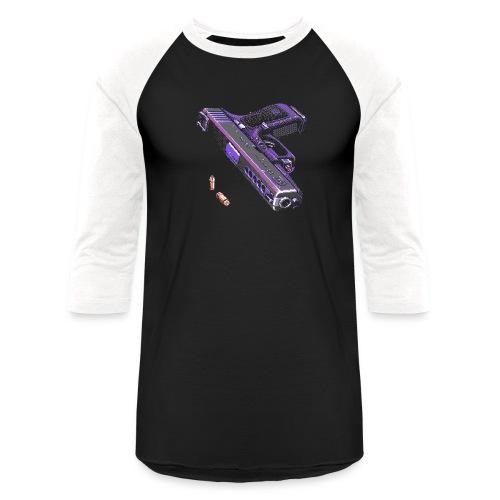 Gun - Unisex Baseball T-Shirt