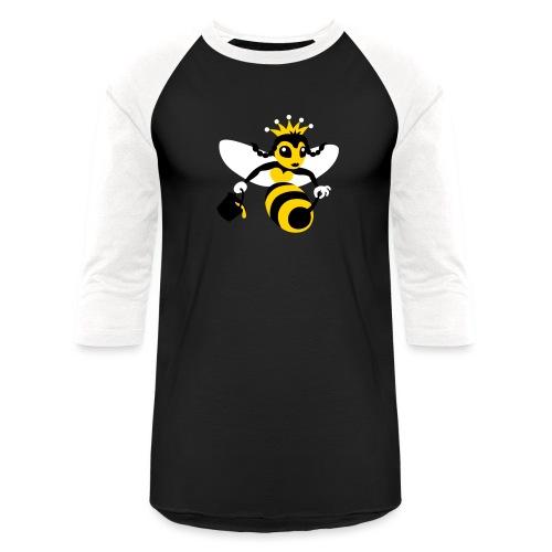 Queen Bee - Unisex Baseball T-Shirt