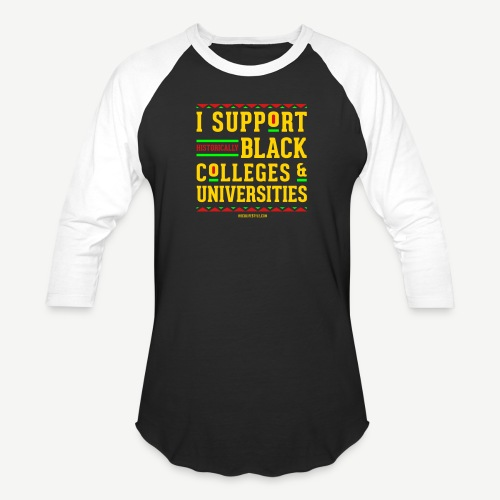 I Support HBCUs - Baseball T-Shirt