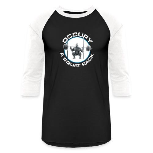 occupysquat - Unisex Baseball T-Shirt