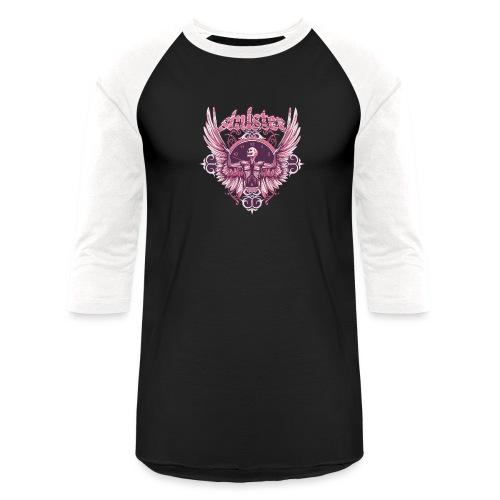 Sinister Tee - Unisex Baseball T-Shirt