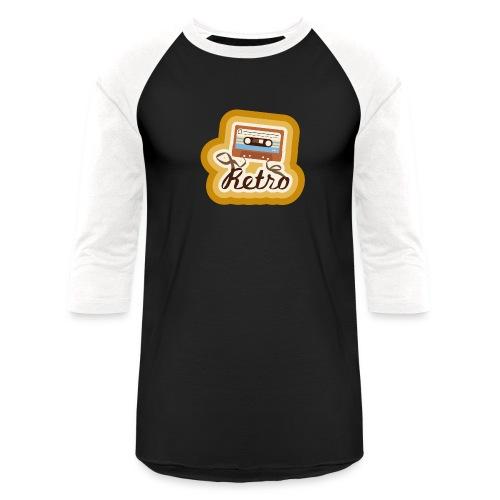 Retro-Cassette - Baseball T-Shirt