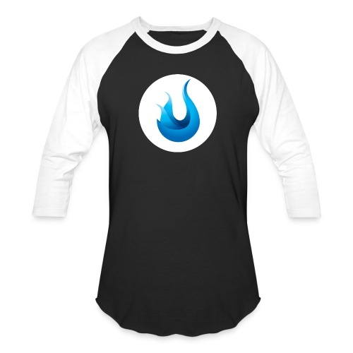 flame front png - Unisex Baseball T-Shirt