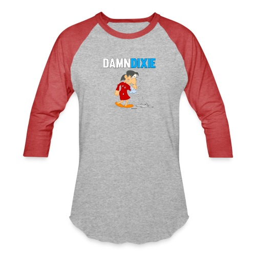 Damn Dixie - Baseball T-Shirt