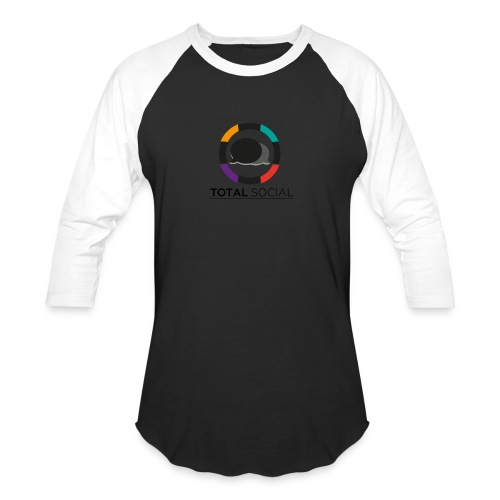 Logo_Total_Social_PNG_03 - Baseball T-Shirt