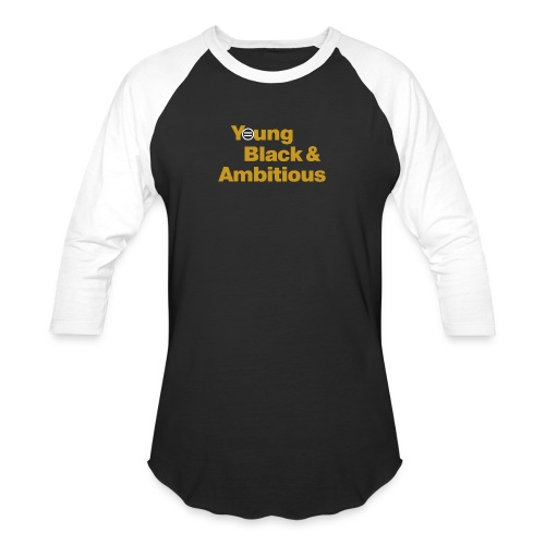YBA Black and Gold Shirt2 - Baseball T-Shirt