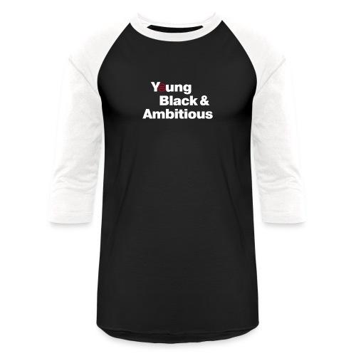 YBA Black Shirt2 - Unisex Baseball T-Shirt